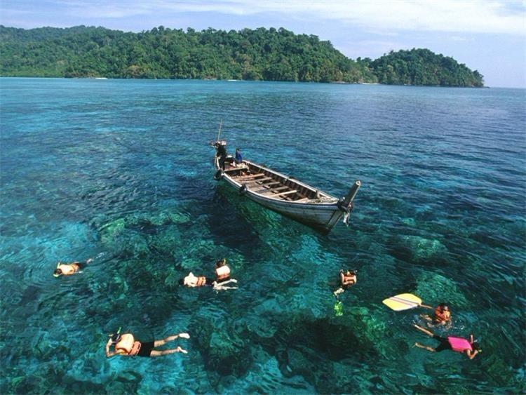 普吉岛深潜