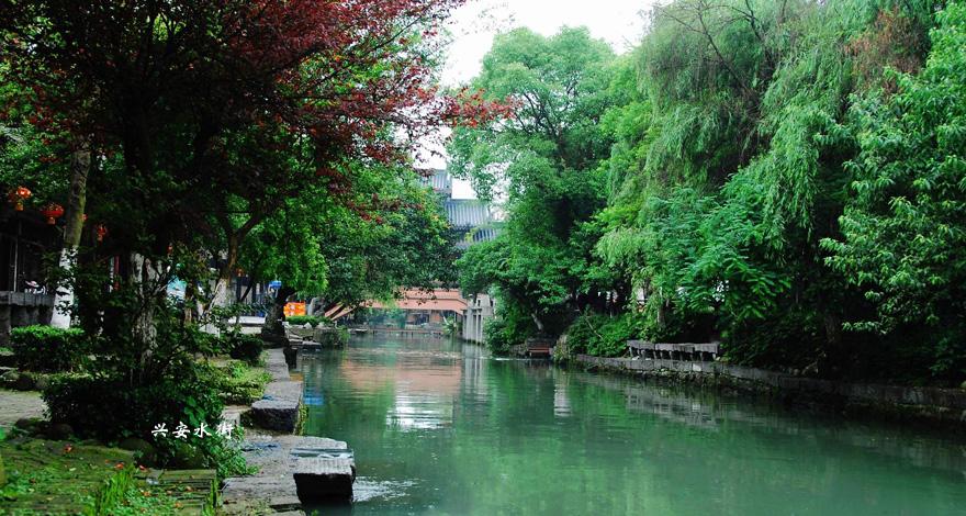 桂林三天游_广西桂林-兴安水街