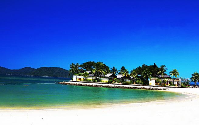 沙巴超值5天游:马来西亚沙巴海滩