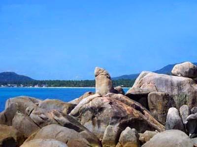 苏梅岛6天自由行:泰国苏梅岛阿公石