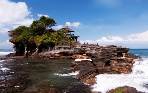 巴厘岛5天游:印尼巴厘岛海神庙