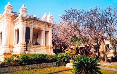越南五天游_越南岘港-占婆文化博物馆
