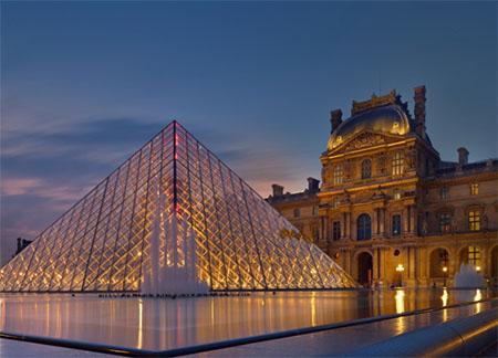 东西欧14 天九国游景点_法国卢浮宫博物馆