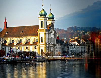 欧洲三国游:瑞士琉森湖
