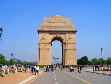印度7日游景点:印度孟买印度门