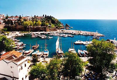 土耳其10天游:土耳其安塔利亚老城区-卡勒伊奇