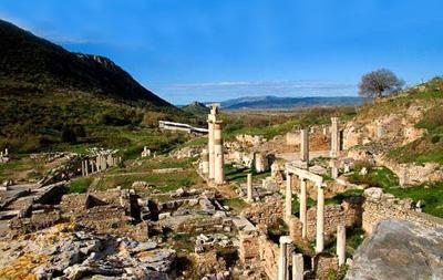 土耳其12天全景游:土耳其以弗所古城