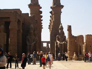 埃及10天游_埃及卡纳神庙