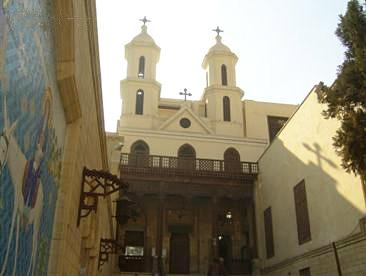 土耳其、埃及18天游:埃及开罗-悬空教堂