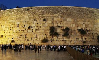 以色列、约旦12天游:以色列西墙