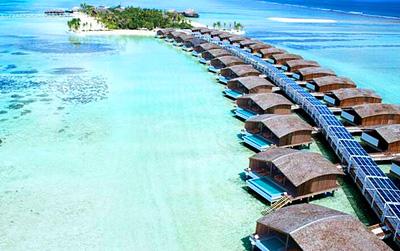 马尔代夫翡诺岛奢华别墅酒店