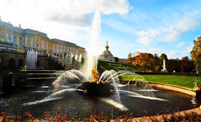 俄罗斯8日游景点_俄罗斯夏宫花园