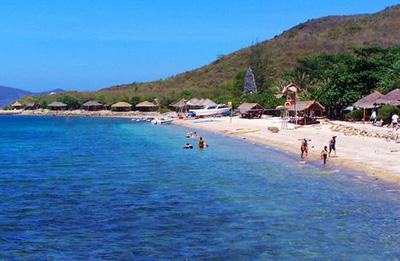 越南芽庄五天游:越南芽庄海滨沙滩