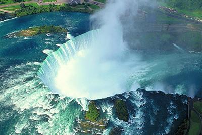 加拿大9天品质游景点_加拿大尼亚加拉大瀑布