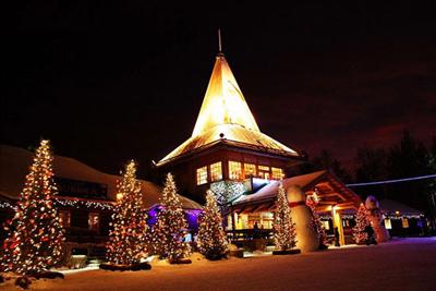 北欧三国11天之旅景点_芬兰圣诞老人村