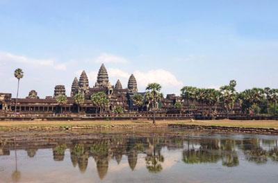 柬埔寨吴哥窟巴肯山