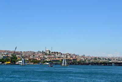 土耳其12天全景游:土耳其博斯普鲁斯海峡