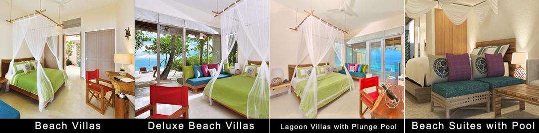 马尔代夫奥露岛度假村房型
