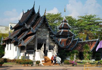 泰国清迈寺庙