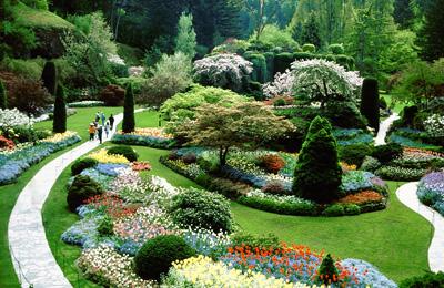 加拿大9天品质游景点_加拿大维多利亚-布查特花园