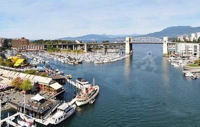 加拿大9天品质游_加拿大温哥华风光