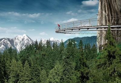 加拿大10天游景点_加拿大温哥华-卡比兰奴吊桥公园