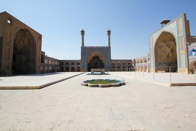 伊朗、阿联酋10天游景点_伊朗伊斯法罕-星期五清真寺