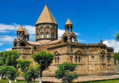阿塞拜疆 格鲁吉亚 亚美尼亚 三国11日游:亚美尼亚-埃奇米亚津大教堂