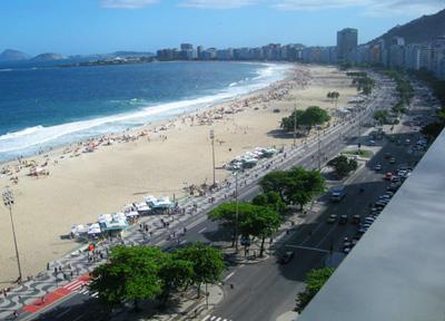 南美3国14天:巴西里约热内卢海滨大道