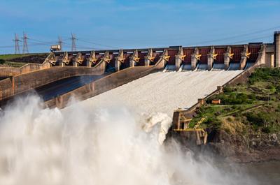 南美16天游景点_依泰普ITAIPU水电站