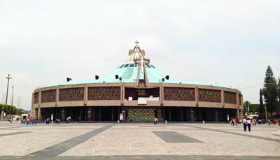墨西哥8天游:墨西哥瓜达卢佩大教堂
