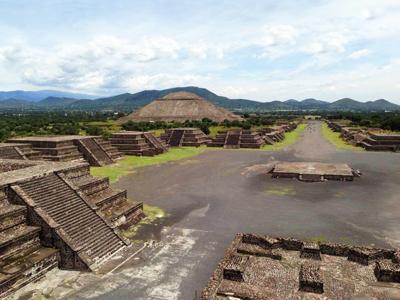 美洲20天游:墨西哥太阳月亮金字塔