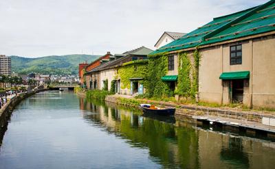 日本7天游:日本小樽运河