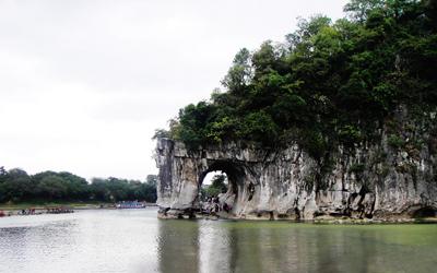 桂林3天游_广西桂林象鼻山