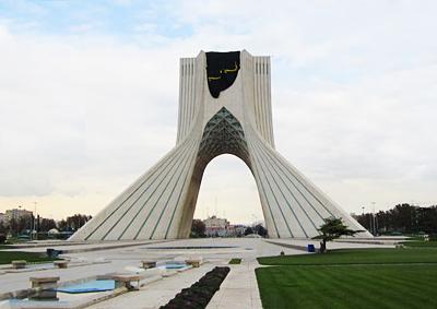 伊朗、阿联酋10天游景点_伊朗德黑兰自由纪念碑