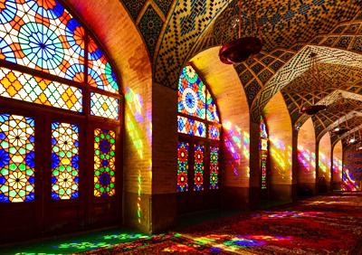 伊朗、阿联酋10天游景点_伊朗莫克清真寺