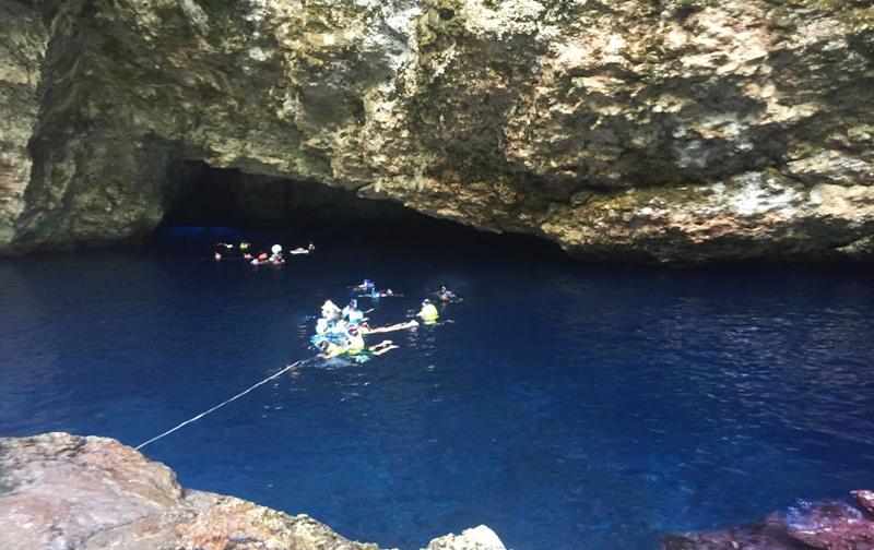 塞班岛潜水