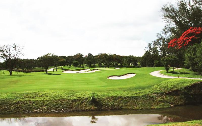 沙巴高尔夫球地图