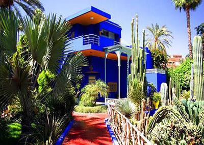 摩洛哥全景12天游景点_摩洛哥伊夫圣洛朗私人花园