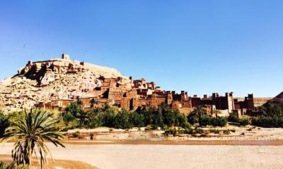 摩洛哥全景12天游景点_摩洛哥阿伊本哈杜筑垒村