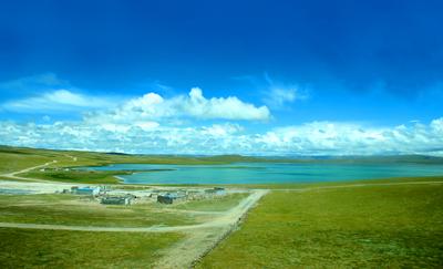 西藏旅游_西藏措那湖