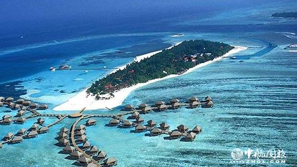 马尔代夫卡尼岛全景