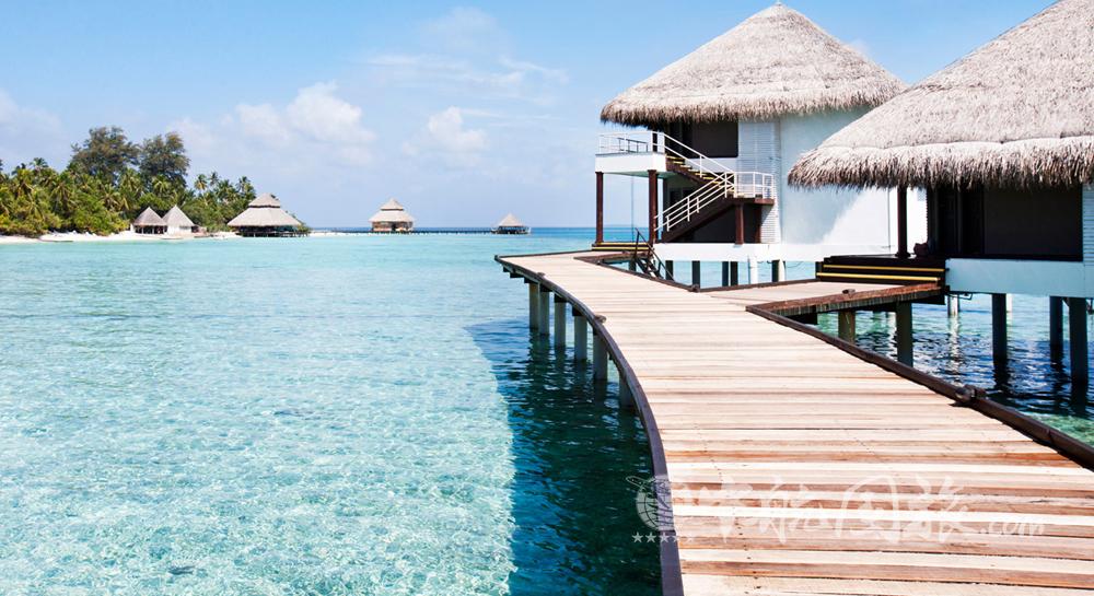 马尔代夫绚丽岛房间