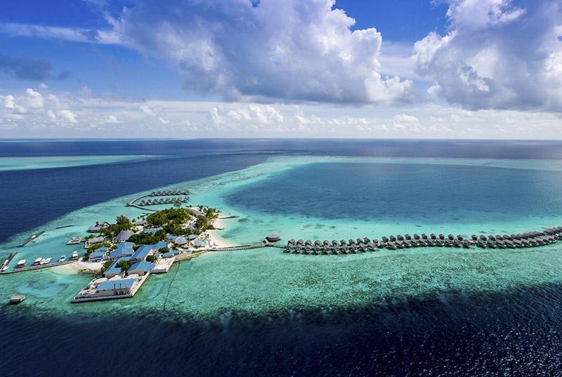 马尔代夫圣塔拉富士岛地图