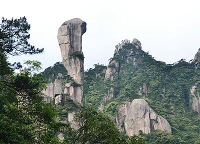 江西三清山-巨蟒出山