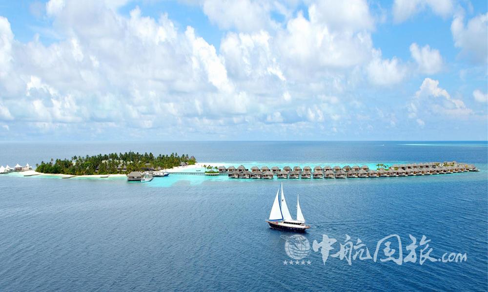 马尔代夫宁静岛图片