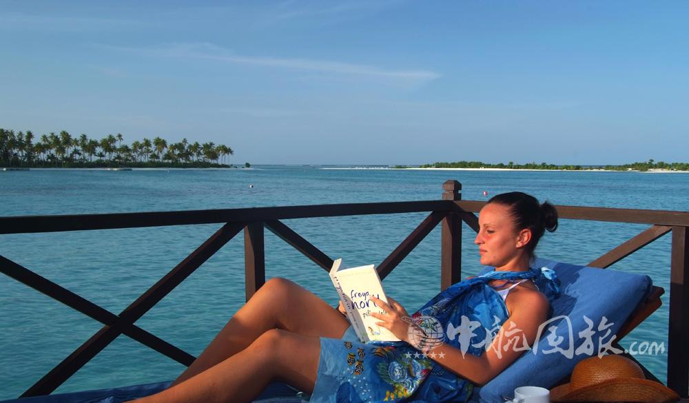 马尔代夫双鱼岛风光