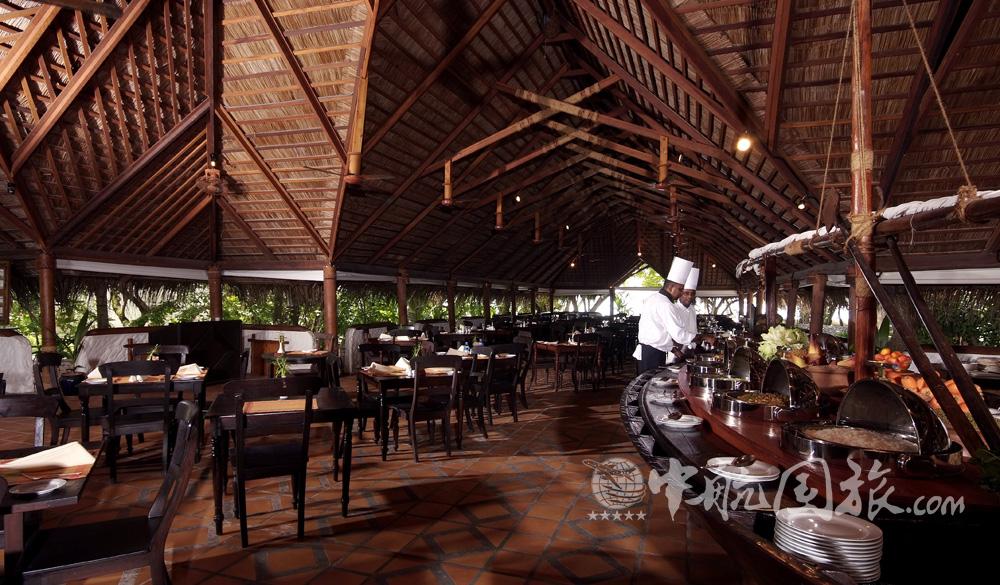 花园餐厅-马尔代夫梦幻岛图片