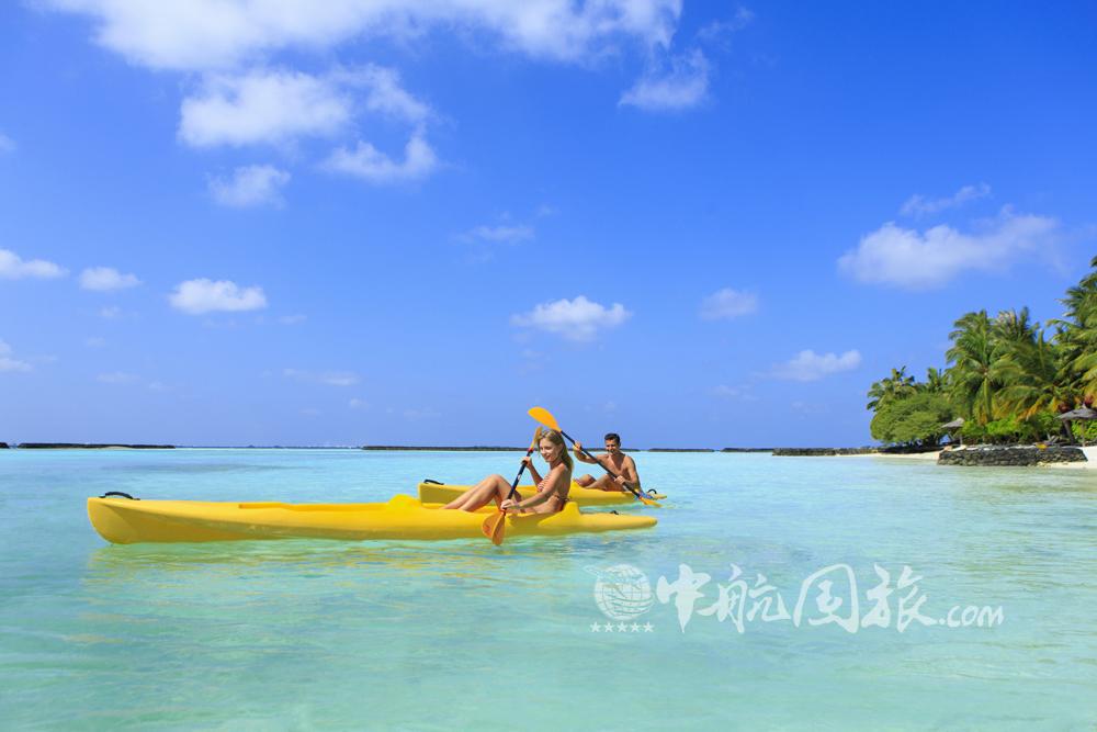 马尔代夫椰子岛风景图片