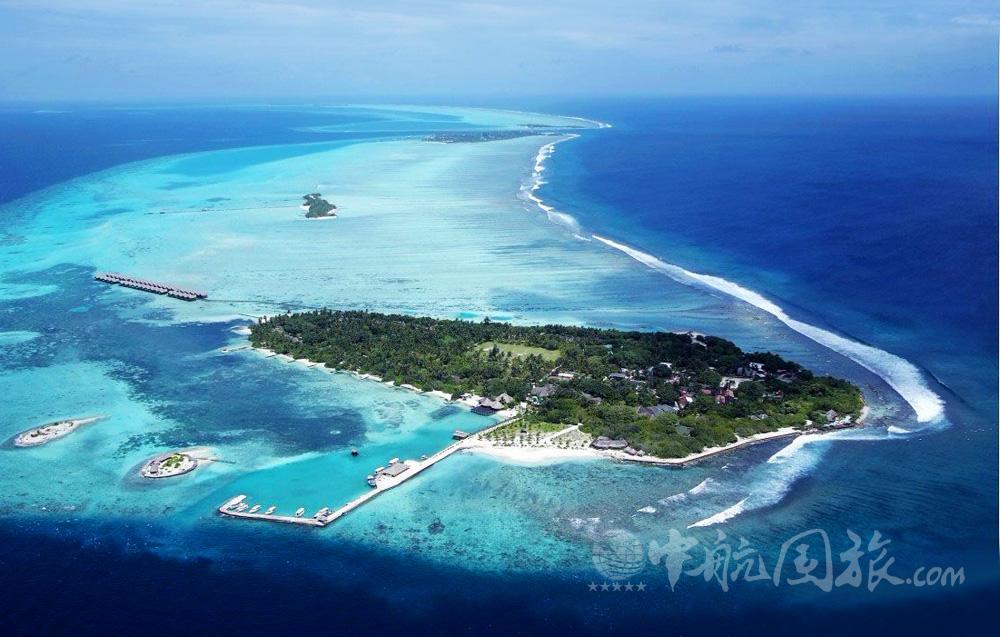 马尔代夫白金岛